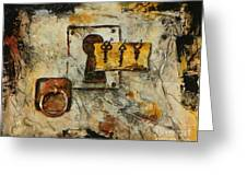 Grab The Brass Ring Greeting Card