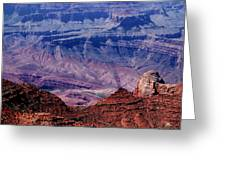 Grand Canyon View Greeting Card