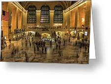 Grand Central Station Greeting Card