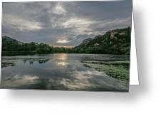 Granite Basin Lake Sunset Greeting Card