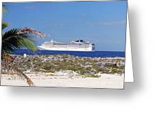 Great Stirrup Cay Greeting Card