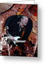 Gregg Allman Art Greeting Card
