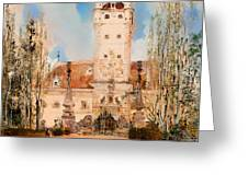 Greillenstein Castle Greeting Card