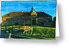 Gripsholm Castle Castle Autumn  Greeting Card
