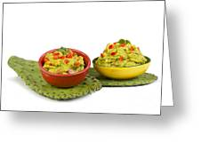 Guacamole. Greeting Card
