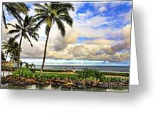 Hawaii Pardise Greeting Card