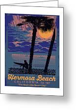 Hermosa Beach. Greeting Card