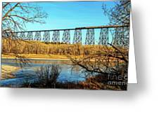 High Level Bridge Greeting Card