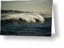 High Surf Greeting Card
