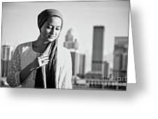 Hijab Fashion Greeting Card