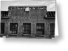 Historic Rickwood Field Greeting Card