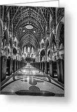 Holy Name Cathedral Greeting Card