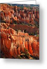 Hoodoos Of Sunset Point In Bryce Canyon Greeting Card