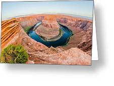 Horseshoe Bend Near Page Arizona Greeting Card