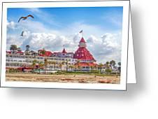 Hotel Del Coronado Greeting Card