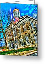 Howard County Courthouse Greeting Card