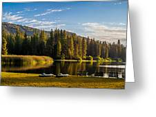 Hume Lake Greeting Card