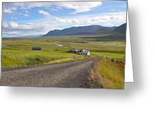 Iceland Landscape Greeting Card