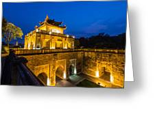 Imperial Citadel Of Hanoi Greeting Card