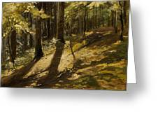 In A Forest Greeting Card