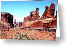In Monument Valley, Arizona Greeting Card