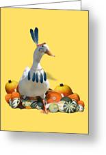 Indian Duck Greeting Card