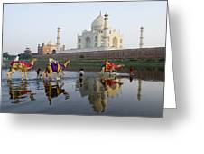 India's Taj Mahal Greeting Card