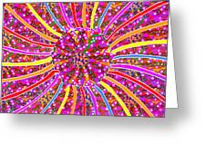 Infinity Star Flower An Abstract Fineart Expression By Navinjoshi At Fineartamerica.com Colorful Spe Greeting Card