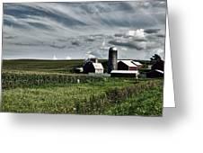 Iowa Farmstead Greeting Card
