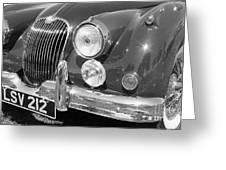 Jaguar Xk Series Greeting Card