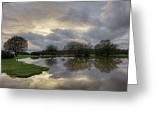 Janesmoor Pond - New Forest Greeting Card