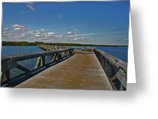 2- J.d. Macarthur State Park Greeting Card