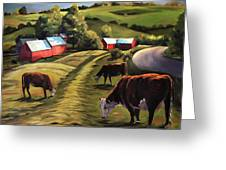 Jenne Farm In Reading Vermont Greeting Card