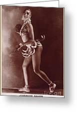 Josephine Baker (1906-1975) Greeting Card
