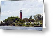 Jupiter Inlet Florida Greeting Card