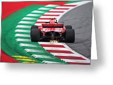 Kimi Raikkonen Austria 2018 Greeting Card