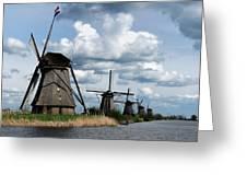 Kinderdijk Windmills Greeting Card