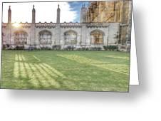 King's College Cambridge Greeting Card