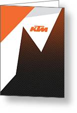 Ktm Ready To Race  Greeting Card