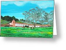 La Purisima Mission Greeting Card