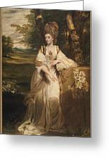 Lady Bampfylde Greeting Card