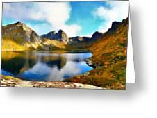 Landscape Of Greeting Card