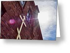 Lappeenranta Fortress Orthodox Church Greeting Card