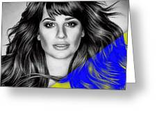 Lea Michele Collection Greeting Card