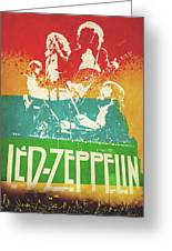 Led Zeppelin  Greeting Card