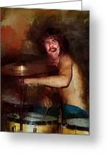 Led Zeppelin. John Henry Bonham. Greeting Card