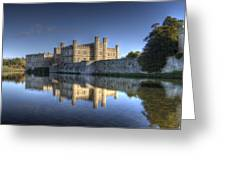 Leeds Castle Reflections Greeting Card