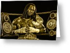 Lennox Lewis Collection Greeting Card