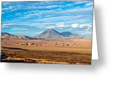 Licancabur Volcano View Greeting Card