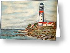 Lighthouse 2 Greeting Card